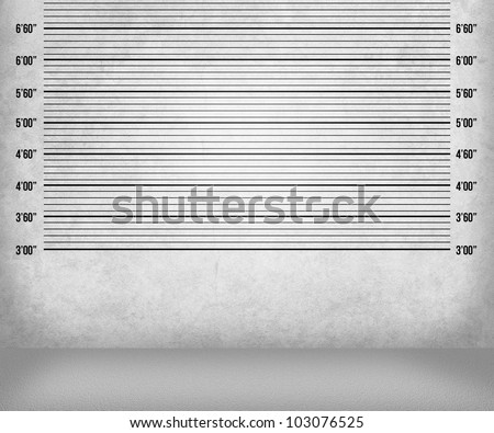 Police Lineup Background - stock photo