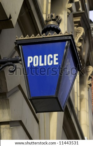 Police Station - stock photo