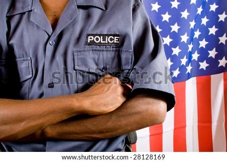 policeman - stock photo