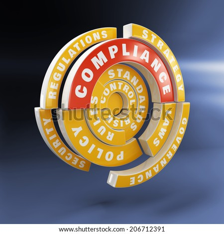 Policy, laws and compliance - stock photo