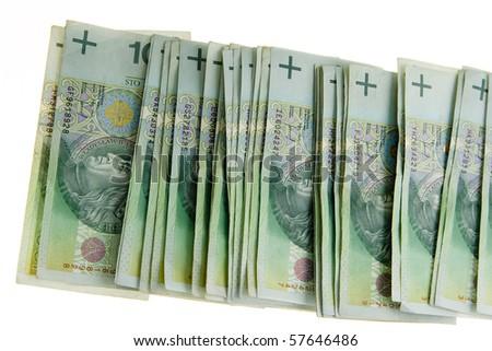 Polish money - stock photo