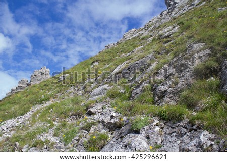Polish mountain - stock photo