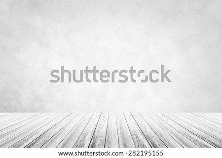 Polished bare concrete wall texture background White color