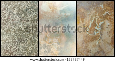 polished marble textures - stock photo