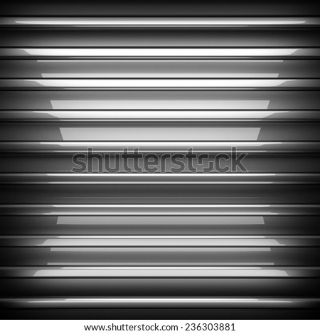 polished metal background - stock photo