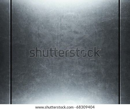 Polished metal surface. - stock photo