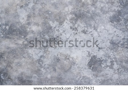 Polished old grey concrete floor texture background - stock photo