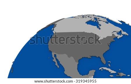 North America Globe Stock Images RoyaltyFree Images Vectors