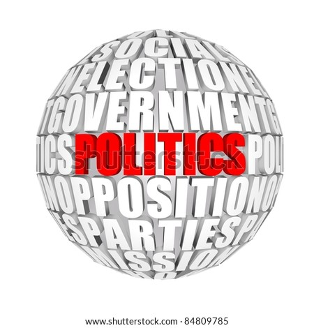 politics around us - stock photo