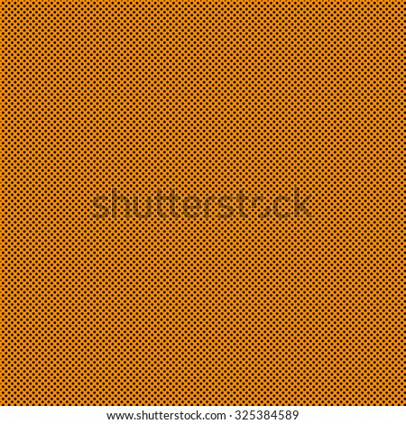 Polka Dot background with dark orange background and black dots