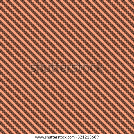 Polka Dot background with light salmon background and black dots