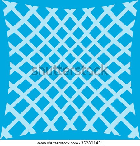 Polka net on colorful background