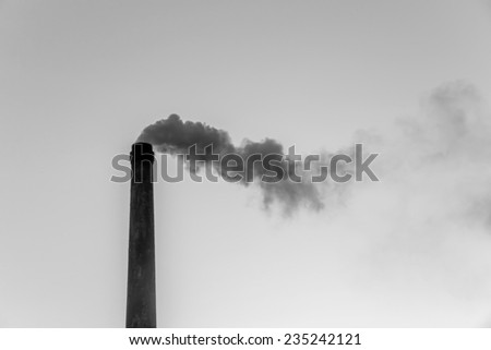 Pollution chimney