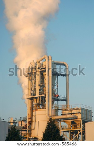 Pollution is Everywhere - stock photo