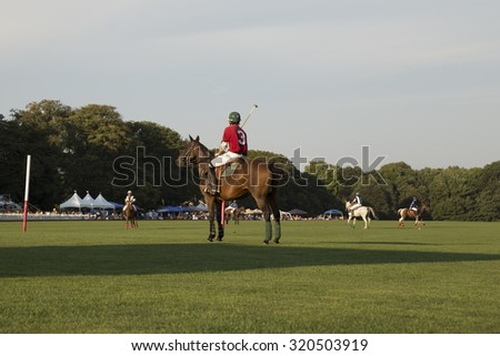 polo player - stock photo