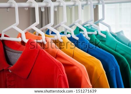 polo-shirt - stock photo