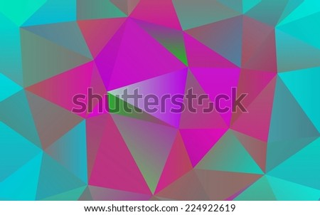 polygonal abstract background illustration design
