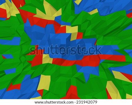 Polygones Abstract Background - stock photo