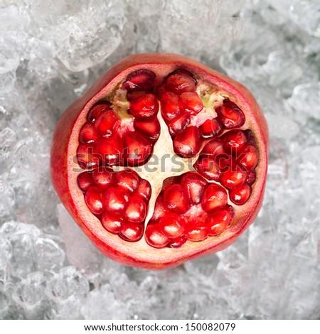Pomegranates.  - stock photo