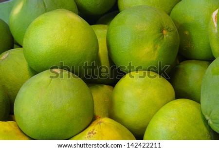 Pomelo fruit - stock photo