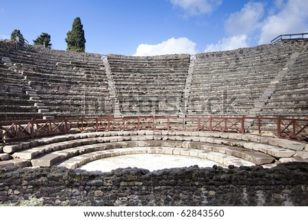 Pompei, Italy - stock photo