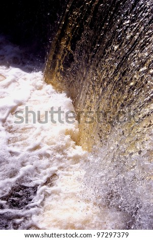 Pond water always sounds good in channel - stock photo