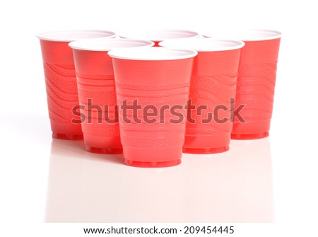 Pong Cups - stock photo
