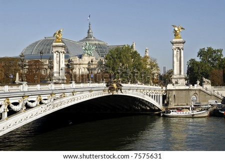 Pont Alexandre III of Paris