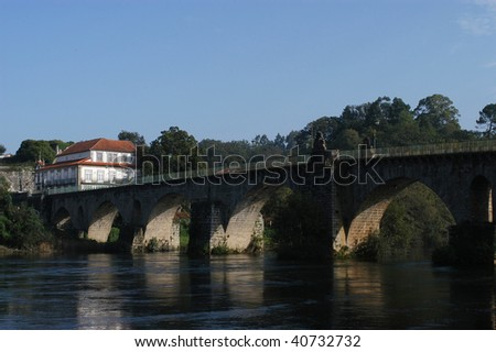 Ponte de Lima - Portugal - stock photo