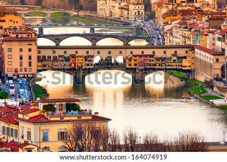 Ponte Vecchio, Florece. - stock photo