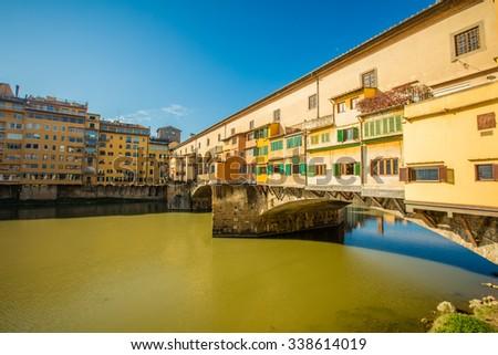 Ponte Vecchio, Florence, Italy - stock photo
