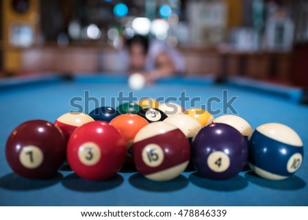 Pool-Billiards