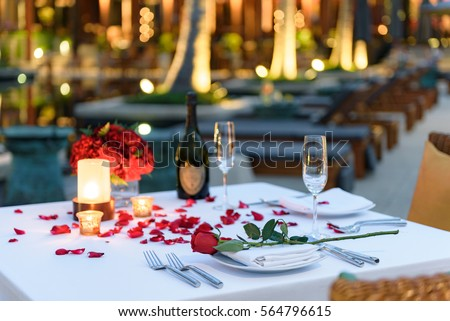 Candlelight Dinner Stock Images Royalty Free Images