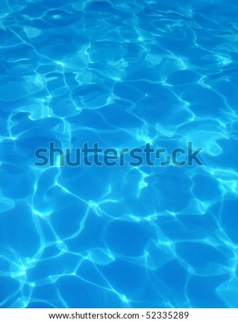 Pool Water - stock photo