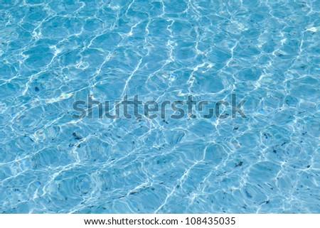 Pool Water Texture - stock photo