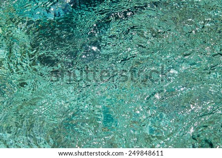 Pool water texture