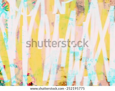 pop art texture - stock photo