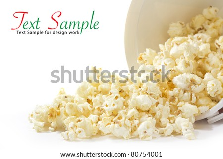 Pop Corn - stock photo