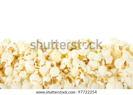 Pop corn border