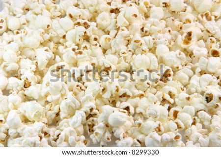 pop corn closeup for background use food and entertainment concepts