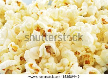 Pop corn maize useful as a background - stock photo