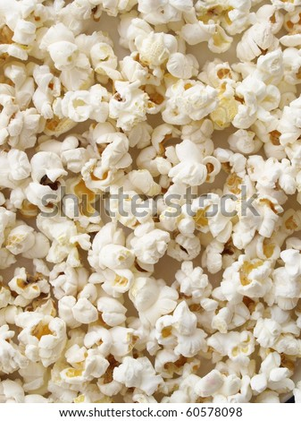 Pop corn maize useful as a background
