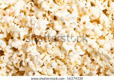 pop corn texture - stock photo
