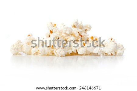 pop corns - stock photo