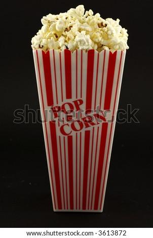 Popcorn and Holder - stock photo