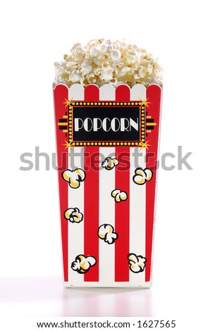 Popcorn Bucket - stock photo