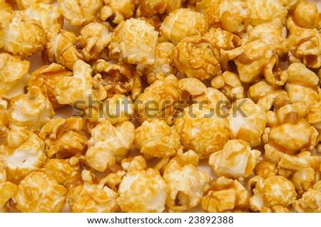 popcorn close up - stock photo