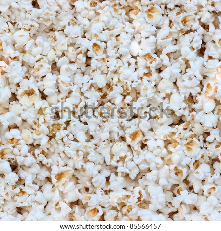 Popcorn close up. Seamless texture high resolution