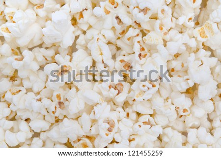 Popcorn texture abstract background as a element of design.