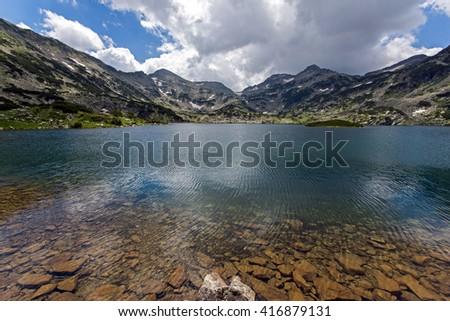 Popovo Lake, Pirin Mountain, Bulgaria - stock photo